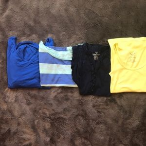 Lot of 4 shirts